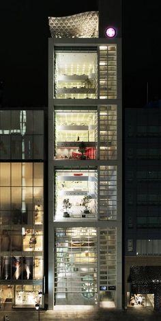 shigeru ban for swatch, arquitetura, architecture, swatch gropup, tokyo, tokio, japão, japan