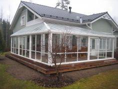 Lasiterassi House Front, Terrace, Porch, Pergola, Exterior, Patio, Building, Garden, Inspiration