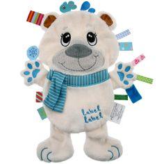 Le doudou plat ours polaire Friends par label Label est tout doux et permet de rassurer bébé à la maison comme en balade. En forme de ours polaire, ils deviendra le compagnon réconfortant de l'enfant.