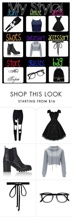 """""""Untitled #182"""" by ashtasia on Polyvore featuring WithChic, Barneys New York, Joomi Lim and MICHAEL Michael Kors"""