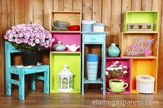 Ideias simples e muito lindas para reaproveitar/reciclar/reutilizar gavetas velhas.