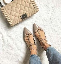 Valentinos + Chanel @lena_terlutter