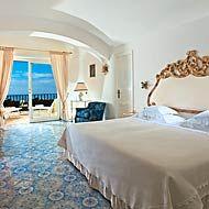 my room, at La Scalinatella, Capri, Italy