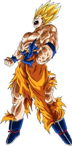 Super+Saiyan+Goku+#4+Manga+Palette+by+RayzorBlade189.deviantart.com+on+@DeviantArt