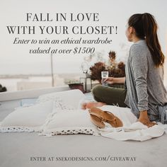Enter to win a wardrobe upgrade valued at over $1500 from some amazing ethical brands!