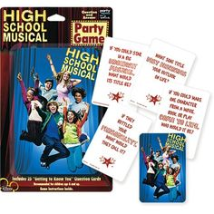 High School Musical Party Game Pack of 6