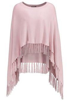 Femme comma, Cape - rosé rose chiné: 50,00 € chez Zalando (au 31/08/15). Livraison et retours gratuits et service client gratuit au 0800 740 357.
