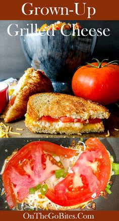 Grown up grilled cheese make great sandwiches on the go, just grab and go. In 10 minutes you can make a fresh hot dinner or snack. We give you the secret to a perfectly golden toast and how to make the grilled cheese portable so that you don't have greasy fingers on the go. Ingredient substitutions included. Comfort food taken to new heights. OnTheGoBites.Com