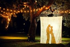 I love shadows and silhouettes. This would be great fun for photos and general silliness!