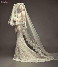Cudowna stylizacja ślubna - A ten welon...