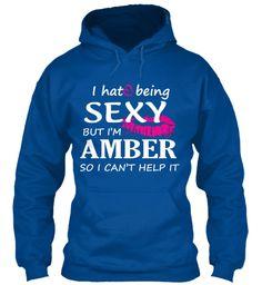 Tshirt Of Amber, Sexy Amber Royal Sweatshirt Front