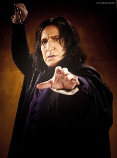 Severus Snape Snape And Hermione, Snape And Lily, Professor Severus Snape, Harry Potter Severus Snape, Severus Rogue, Harry Potter Fandom, Harry Potter World, Harry Potter Characters, Alan Rickman Movies