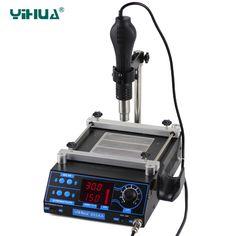 110V/220V YIHUA 853AA High power ESD BGA rework station PCB preheat and desoldering IR preheating station