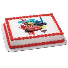 Image result for disney cars birthday cake Terrence 6th Birthday