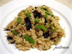 Vařím bez lepku, mléka a vajec - Obilniny a pseudoobilniny - Quinoa - Quinoa s vůní Itálie Quinoa, Grains, Rice, Food, Diet, Essen, Meals, Seeds, Yemek