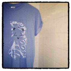 Hand printed tees from Dance Macabre