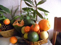 Mis cestos de Frutas.