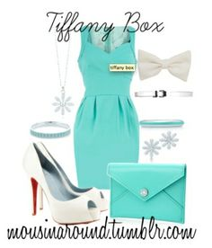 "The Tiffany & Co. ""Tiffany Box Bridal Shower' Collection"