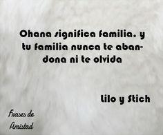 Frases de disney de Lilo y Stich