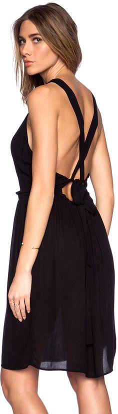 Shop for LACAUSA Story Dress in Tar at REVOLVE. Free day shipping and returns, 30 day price match guarantee. Thing 1, Open Back Dresses, Revolve Clothing, Sexy, Clothes, Beauty, Shopping, Black, American