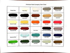 american paint company swatches