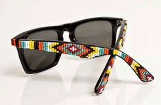 ... The Mosley Tribes x Oliver Peoples shades hand-beaded by designer Jenny Dayco.