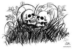 The warning of the skull