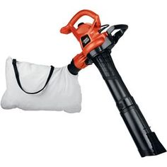 Black  Decker 12amp Blower Vacuum 3-in-1 blower, vacuum & mulcher  Keeps yard neat & tidy  Blows up to 230mph   2-speed switch converts in seconds from blower to vac  Large 1.5-bushel bag with adjustable shoulder strap  Allows controlled cleaning in gardens & flower beds #faamintl #tools #springcleaning