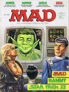 German Mad Magazine | Star Trek II spoof
