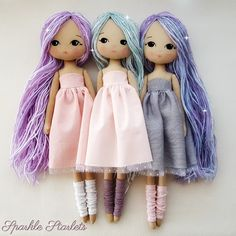 Sparkle Starling Doll Pdf Pattern on Luulla