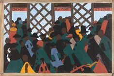 The Phillips Collection reunites Jacob Lawrence's masterwork The Migration Series, the seminal work by one of the most celebrated African American artists of the century. African American Artist, American Artists, African Art, Native American, Jacob Lawrence Art, The National, The Great Migration, Phillips Collection, Collage Techniques