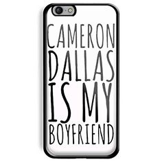 Cameron Dallas Magcon Boys Is My Boy Friends for Iphone and Samsung Galaxy (iPhone 6 black)