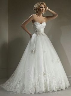 Maggie Sottero Isadora Marie sweetheart neckline Lace And Satin And Organza A-Line Wedding Gown