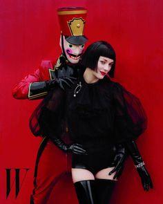 Marion Cotillard in W Magazine December 2012.