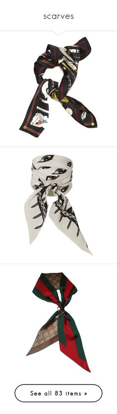 """scarves"" by mystical-anya ❤ liked on Polyvore featuring accessories, scarves, multicolour, hermès, colorful scarves, silk shawl, silk scarves, hermes scarves, ivory and print scarves"