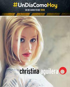 Christina Aguilera - Christina Aguilera- 24 de agosto de 1999 Chad Michael Murray, Christina Aguilera 1999, Style Ideas, Beautiful Women, Hair Styles, Inspiration, Beauty, August 24, Songs