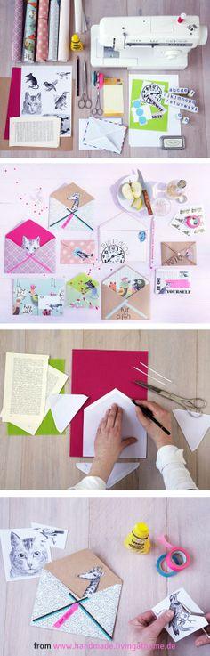 DIY Gift Wrap And Envelopes