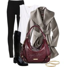 """""""Wrap Coat"""" by orysa on Polyvore"""