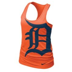 NIKE Detroit Tigers tank - Love this tank, can't decide if I like the navy or orange one better!