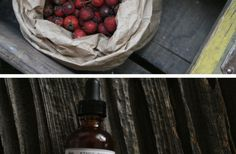 Hawthorn-rose spiced syrup.