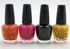 OPI Skullicious - Halloween colors for 2012. Comes with skull decals