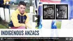 ANZAC day is a time when we remember the people who've fought for Australia in wars. For anyone, that takes a huge amount of courage and det. World War One, First World, Joining The Army, Real Family, Aboriginal People, Anzac Day, Facts For Kids, All Hero, Fight For Us