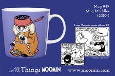 49 Moomin mug The Muddler Moomin Mugs, Tableware, Den, Cups, History, Products, Dinnerware, Mugs, Historia
