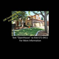Hey we have a great open house this weekend in FolsomCA!! Text 'OpenHouse' to 916-571-0411 to get more details & pictures! Hope to see you there! #openhouse #folsom #californiarealestate #forsale #realestate #darosarealestate #kellerwilliams