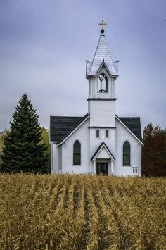 Rural Church by Mike Byers, via 500px