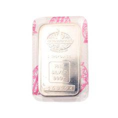 Vintage 1 ozt. Fine Silver Bar by Engelhard Canada • Uncommon Canadian  Silver Bullion 1 Troy Ounce Bar in Factory Seal by EncoreJewelryandGems on Etsy
