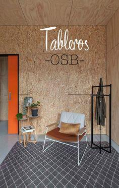 Revestimientos de madera, materiales low cost construcción, soluciones económicas decoración, muebles de contrachapado.