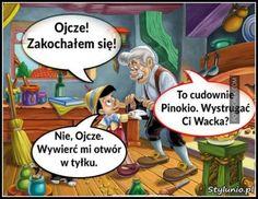 Pinokio na czasie Weekend Humor, Funny Memes, Jokes, Some Fun, Laughter, Haha, Family Guy, Instagram Posts, Fictional Characters