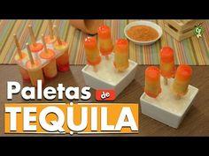 ¿Cómo preparar Paletas Heladas de Tequila Sunrise? - Cocina Fresca - YouTube