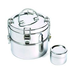 2 Tier Stainless Steel Lunchbox - Abe's Market